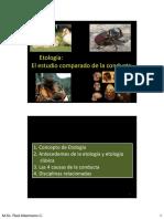 Unidad 1 Etología
