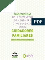 Consecuencias de La Enfermedad de Alzheimer en El Cuidador Familiar