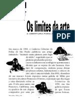 Limites Da Arte - Frayze