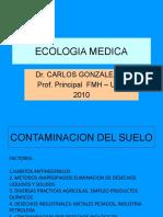 Ecología-CLASE 09-Contaminación Del Suelo