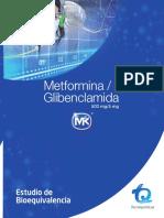 Metformina Glibenclamida estudio