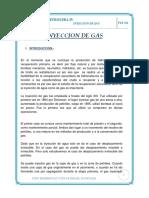 Inyeccion de Gas