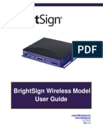 BrightAuthor 2.2 Net Wifi