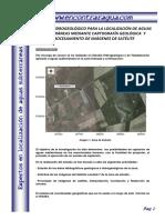 Informe Marruecos Como Usar Satelite Para Encontrar Agua