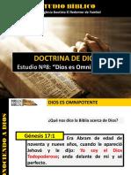 Discipulado Nº 8 Dios Es Omnipotente