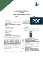 2018-1 Guia1. Manejo de Instrumentos de Medición