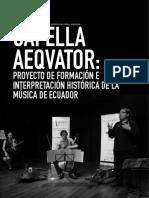 nota revista numbers - capella aeqvator-esp