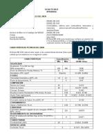 Especificaciones Tecnicas de Diesel