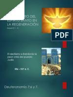 El Ministerio Del Espíritu Santo en La Regeneración