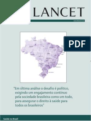 The Lancet Brasil Completo | Sociologia | Brasil