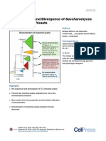 Domestication and Divergence of Saccharomyces.pdf