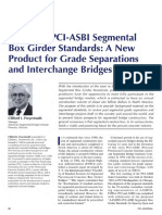 JL-97-September-October AASHTO-PCI-ASBI Segmental Box Girder Standards a New Product for Grade Separations and Interchange Bridges