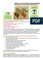Natural Flea Control Information for PDF