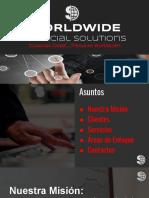 Worldwide Financial Services Spanish Presentation 2