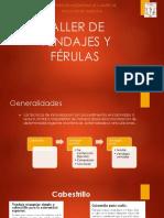 Taller de Vendajes y Férulas (1)