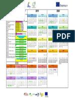 Calendário Erasmus+ KA2