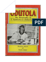 Biography of T. Adeola Odutola