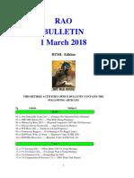 Bulletin 180301 (HTML Edition)