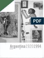 ELLIOTT, D. (Ed.) - Arte de Argentina. 1920-1994