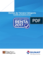 Cartilla Renta Tercera Categoria 2017