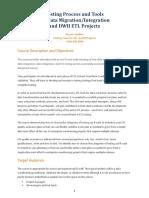 Data Integration & ETL Testing Course Description