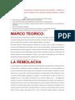 Nuestro Objetivo Para Este Proyecto Es Extraer Colorantes de La Remolacha