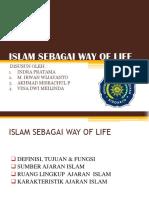 Islam Sebagai Way of Life Ppt