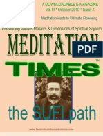 Meditation Times October 2010