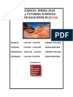 Nssc Geosciences Tutoring Spring 2018