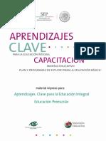 Capacitación Modelo Educativo Plan y Programas de estudio para la Educación Básica.