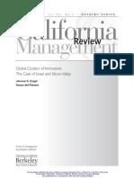 Global Custer of Innovation