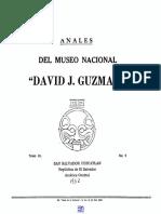 Anales David j. Guzman n0 9