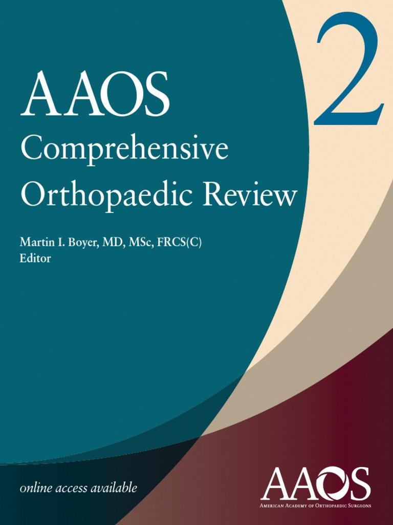 AAOS Comprehensive Orthopaedic Review 2 | Orthopedic Surgery