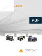 DEWESoft Product Catalog en Latest