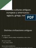 Distintas Culturas Antiguas