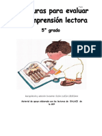 COMPRENSIÓN LECTORA 5º