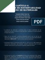 Criterios de Sustentabilidad en El Uso de Materiales