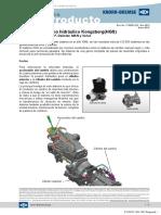 Sistema Cambio Hidraulico Kongsberg (Hgs)