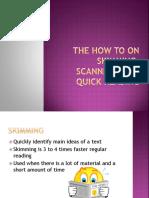 Skim, Scan & Spead Reading - Copy