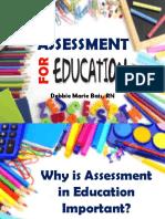 Assessment for Education Adv