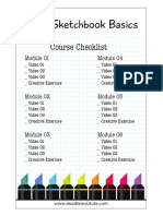 Checklist Sketchbook Basics