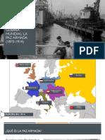 La Primera Guerra Mundial. La Paz Armada