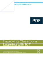 Improving Classroom Learning With ICT by [Rosamund_Sutherland,_Susan_Robertson,_Peter_John]_2009
