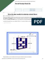 Brico-diy Plano Mueble de Melamina Estante Librero _ Web Del Bricolaje Diseño Diy