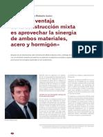 Entrevista a Roberto Leon ( Conexiones en Estructuras Mixtas)