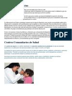 Centros Comunitarios de Salud