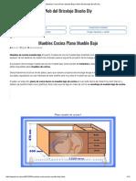 Muebles Cocina Plano Mueble Bajo _ Web Del Bricolaje Diseño Diy