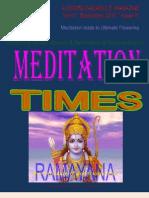 Meditation Times September 2010