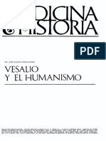 Vesalio y Elhumanismo
