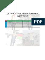 Jadwal Pengajian Muhammad Firdausea